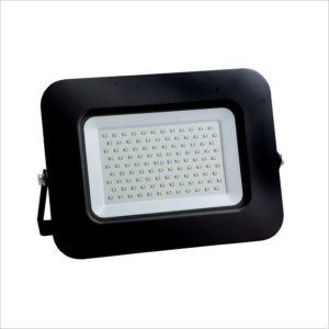 Projecteur led 100W IP65 Ultra plat black body