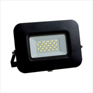 Projecteur led 30W IP65 Ultra plat black body