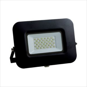 Projecteur led 50W IP65 Ultra plat black body