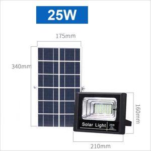 Projecteur-led-solaire-25W