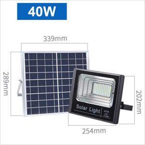Projecteur-led-solaire-40w