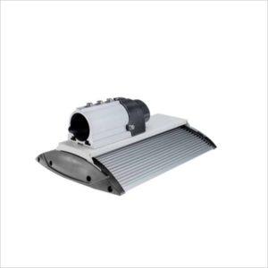 Lampadaire-eclairage-public-LED-120W-compact-blanc- froid-5700K
