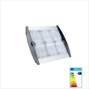 Lampadaire-eclairage-public-LED-90W-compact-blanc- froid-5700K