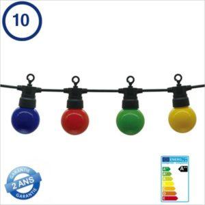 ECLAIRAGE-LED-TYPE-GUINGUETTE-10-PIECES-NOIRE-8METRES-IP65-5056-MULTICOLORE