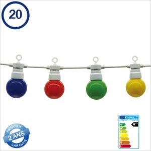 ECLAIRAGE-LED-TYPE-GUINGUETTE-20-PIECES-BLANCHE-13METRES-IP65-5095-MULTICOLORE