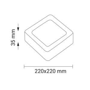 MINI-PANNEAU-LED-CARRE-18W-2241-BLANC-FROID-6000K