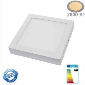 MINI-PANNEAU-LED-CARRE-18W-2242-BLANC-CHAUD-2800K