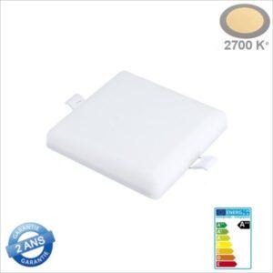 MINI-PANNEAU-LED-CARRE-SANS-CADRE-ENCASTRE-18W-2683-BLANC-CHAUD-2700K