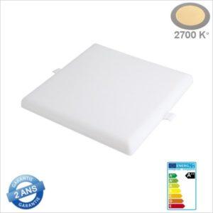MINI-PANNEAU-LED-CARRE-SANS-CADRE-ENCASTRE-24W-2686-BLANC-CHAUD-2700K